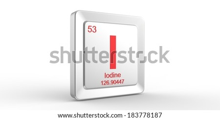 Symbol 53 material iodine chemical element stock illustration i symbol 53 material for iodine chemical element of the periodic table urtaz Image collections