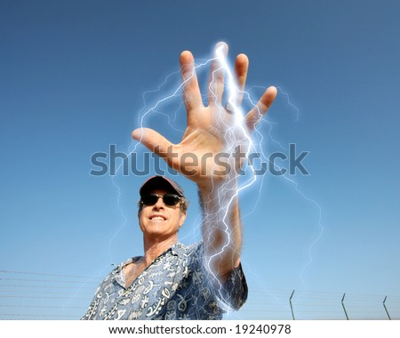 I've Got The Power ! - stock photo