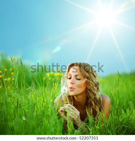 i wish - stock photo