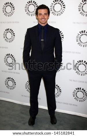 "Ian Harding at The Paley Center for Media Presents ""Pretty Little Liars,"" Paley Center for Media, Beverly Hills, CA 06-10-13"