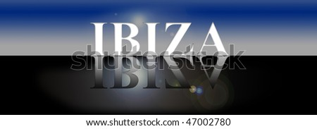 ibiza - stock photo