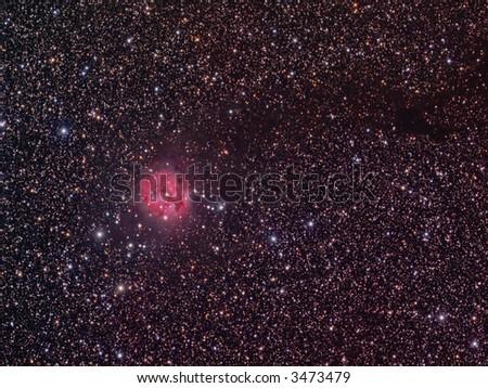 IC 5146 Cocoon nebula - stock photo
