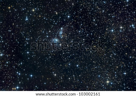 IC 4954 in Vulpencula - stock photo
