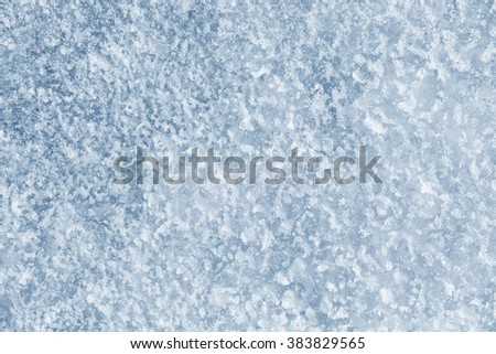 ice and snow background texture - stock photo