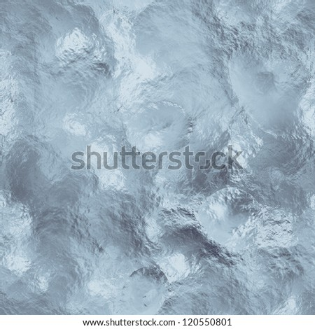 ice and snow texture - stock photo