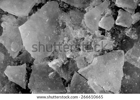 ice as a background - stock photo
