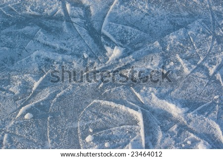 Ice background. - stock photo