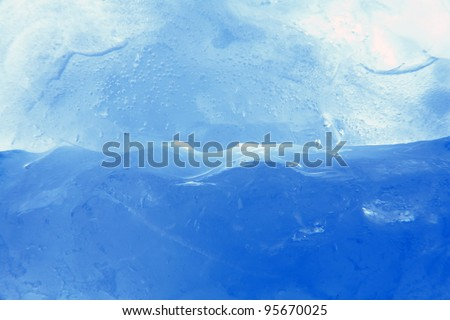Ice background concepts/Ice background /ice with ocean - stock photo
