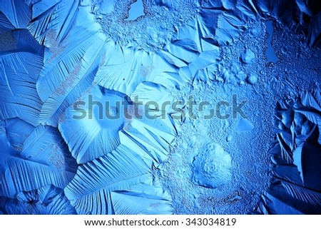 Ice blue texture - stock photo