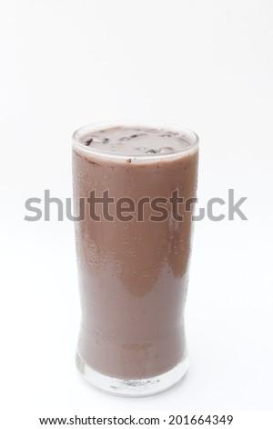 ice chocolate - stock photo