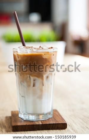 Ice Coffee - stock photo