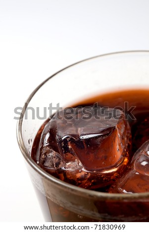 Ice Cola Refreshment - stock photo