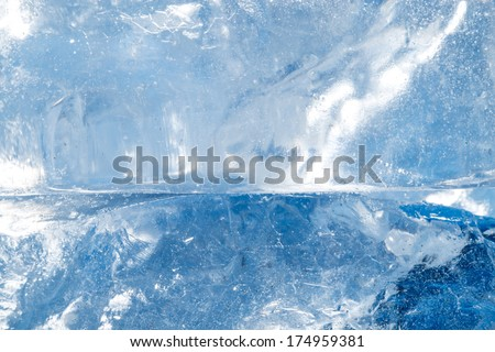 ice cold background - stock photo