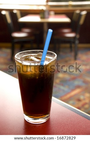 Ice cold Soda - stock photo