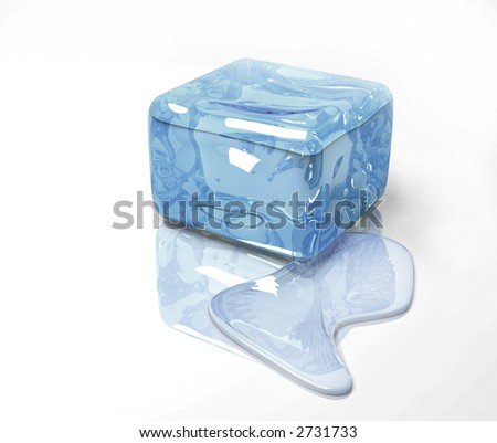 ice cold winter blue water frozen design