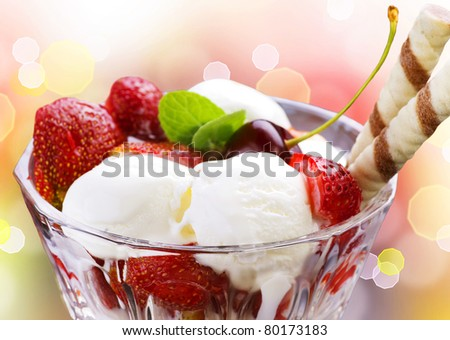Ice Cream - stock photo