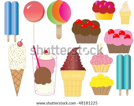 Ice Cream and Cupcakes