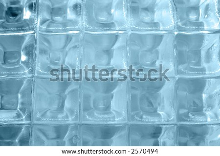 Ice cube abstract