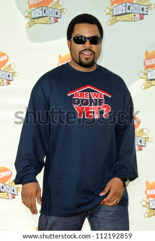 Ice Cube at Nickelodeon's 20th Annual Kids' Choice Awards. Pauley Pavillion, Westwood, CA. 03-31-07