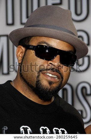 Ice Cube at the 2010 MTV Video Music Awards held at the Nokia Theatre L.A. Live in Los Angeles on September 12, 2010.