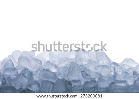 Ice Cubes - stock photo