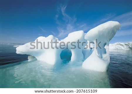 Ice Formation - stock photo
