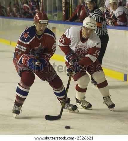 Ice Hockey. Frame #202 - stock photo