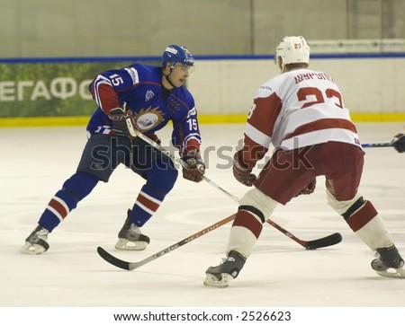 Ice Hockey. Frame #204 - stock photo