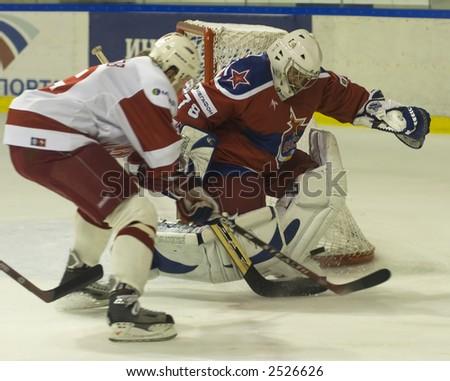 Ice Hockey. Frame #207 - stock photo