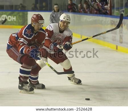 Ice Hockey. Frame #209 - stock photo