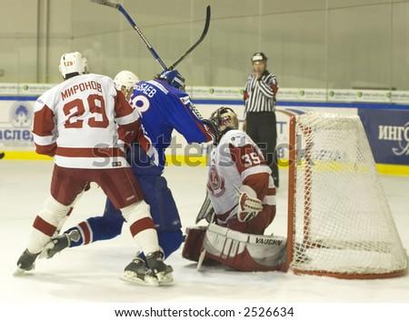 Ice Hockey. Frame #215 - stock photo