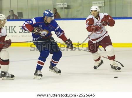 Ice Hockey. Frame #226 - stock photo