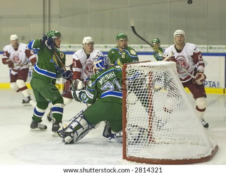 Ice Hockey. Frame #301 - stock photo