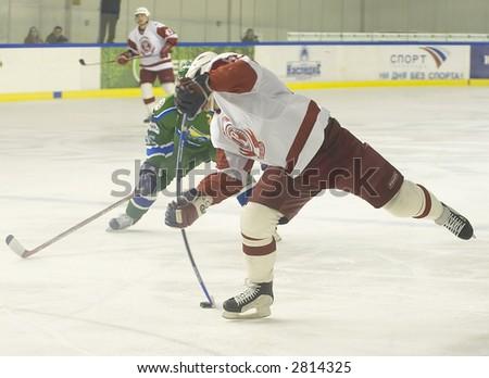 Ice Hockey. Frame #303 - stock photo
