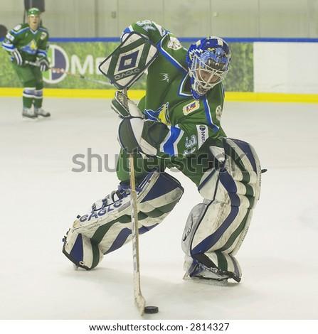 Ice Hockey. Frame #305 - stock photo