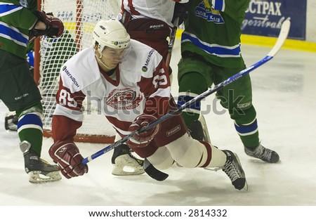Ice Hockey. Frame #307 - stock photo