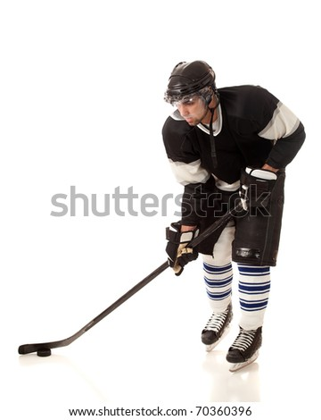 Ice Hockey Player - stock photo