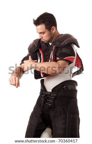 Ice Hockey Player - stock photo