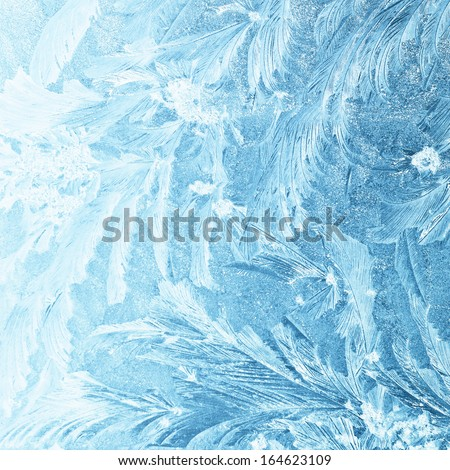 ice natural background - stock photo