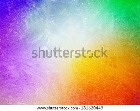 Ice on a window, background - stock photo