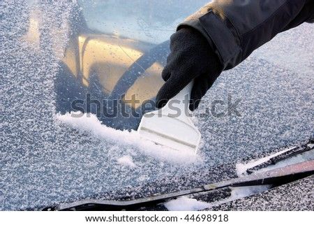 ice scraping