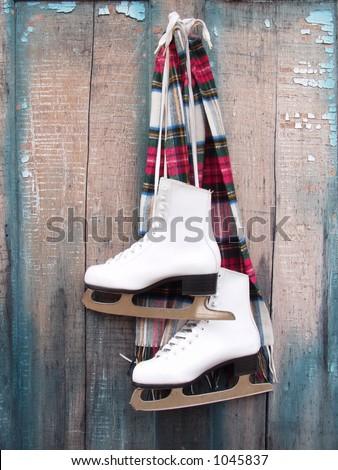Ice Skates - stock photo
