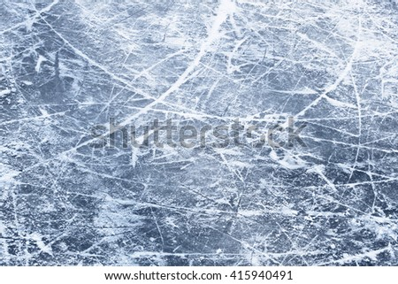 Ice surface  - stock photo