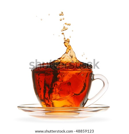 Ice tea - stock photo