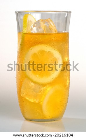 Ice tea - Lemonade - stock photo