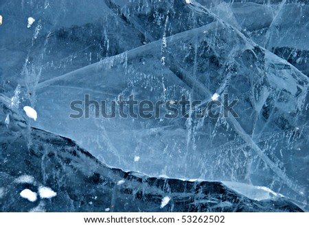 Ice - texture - stock photo