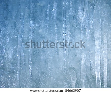 ice wall See my portfolio for more - stock photo