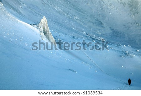 Ice world - stock photo