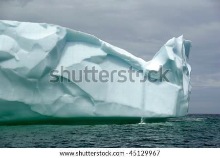 Iceberg Waterfall - stock photo