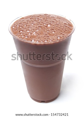 Iced Chocolate Milk - stock photo